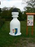 Image for Karlštejnské šachy (06) - bílý strelec / Chess of Karlstein castle - white bishop (Dobrichovice, Czech Republic)