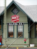 Image for Former MKT Rail Depot - Galena, Kansas, USA.