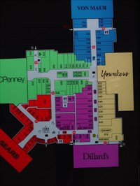 Southpark Mall U R Here Map Moline Illinois You Are Here