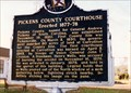 Image for Pickens County Courthouse Erected 1877-78