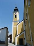 Image for Glockenturm der katholischen Pfarrkirche St. Martin - Unterwössen, Lk Traunstein, Bayern, D