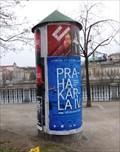 Image for Klasický reklamní sloup - Na Rejdišti - Praha, CZ