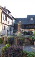 Image for Fountain at  3 Rue du Rempart, Eguisheim - Alsace / France