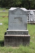 Image for Martha E. Rierson - Ballew Springs Cemetery - Parker County, TX