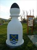 Image for Karlštejnské šachy (03) - bílý strelec / Chess of Karlstein castle - white bishop (Lety, Czech Republic)