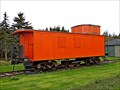 Image for Caboose rolls onto track at Elmira, PEI