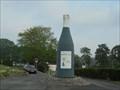 Image for La bouteille géante de Montlouis sur Loire, Centre, France