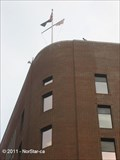 Image for Flag Pole over the Captain John Foster Williams U.S. Coast Guard Building - Boston, MA