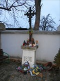Image for Central Cross Postoloprty Cemetery, Czechia