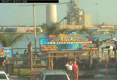 sunrise marina webcam at port canaveral web cameras on. Black Bedroom Furniture Sets. Home Design Ideas