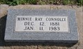 Image for 101 - Minnie Ray Connolly - El Reno Cemetery - El Reno, OK