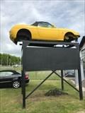 Image for Gul Fiat som reklame...Svendborg, Danmark
