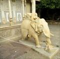 Image for White Marble Elephant - Jaipur, Rajasthan, India