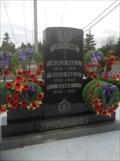 Image for Arichat War Memorial - Arichat, NS