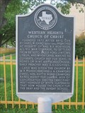 Image for Western Heights Church of Christ