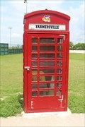Image for Red Telephone Box - Farmersville, TX