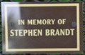Image for Stephen Brandt Bench #2 ~ Coal Valley, Illinois
