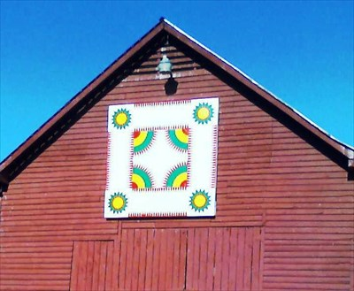 Crown Of Thorns At Bailey Farm Painted Barn Quilts On Waymarkingcom