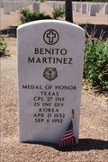Image for Benito Martínez - Fort Bliss National Cemetery - El Paso, TX
