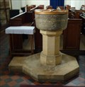 Image for Font - St Swithin's Church, High Street, Sandy Beds.