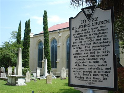 St  John's Lutheran Church Cemetery - Charleston, SC