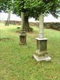Image for Broken Column Headstones - Old Jewish Cemetery - Usov, Czech Republic