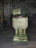 Image for Font - St Aldhelm's Chapel, St Aldhelm's Head, Dorset, UK