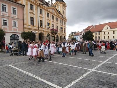 Town Hall Clock - Pisek, Czech Republic