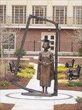 Image for Student who was forced to sit in hallway now honored with statue at OSU - Stillwater, OK