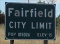 Image for Fairfield, CA - 15 Ft