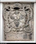 Image for Habsburg Emperor' CoA on Town Hall / Císarský Habsburský znak na radnici - Velvary (Central Bohemia)