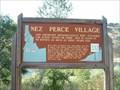 Image for Nez Perce Village