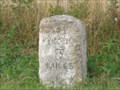 Image for Station Road Milestone - Catworth, Cambridgeshire, UK