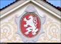 Image for Kingdom of Bohemia on Town Hall / Ceské království na Radnici - Brandýs nad Labem (Central Bohemia)