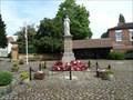 Image for War Memorial, Hall Square, Boroughbridge, N Yorks, UK