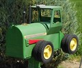 Image for John Deere Tractor Mailbox