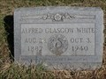 Image for Alfred Glasgow White - Allison Cemetery - Grayson County, TX