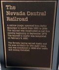 Image for The Nevada Central Railroad