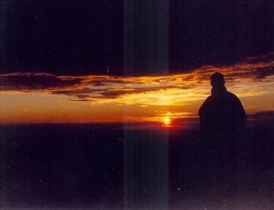 Sunrise from Baldy