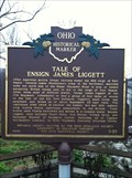 Image for Tale of Ensign James Liggett / Major Adam Charles Muir Marker 3-20
