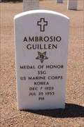 Image for Ambrosio Guillén - Fort Bliss National Cemetery - El Paso, TX