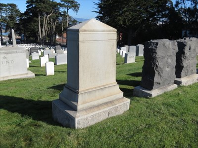 William R Parnell, MOH, Setting of Backside, San Francisco National Cemetery
