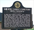 Image for Wilson Family Cemetery - Florence, AL