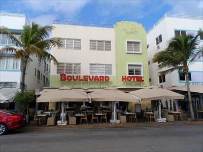 Boulevard Hotel Miami Beach Fl Art Deco Nouveau On Waymarking