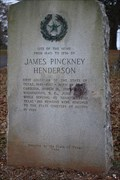 Image for James Pinkney Henderson