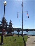 Image for Glenora Ferry Nautical Flag Pole - Adolphustown, ON