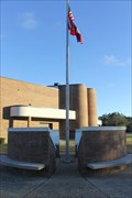 Image for Memorial Flagpole Surround -- Ocean Springs MS