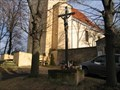 Image for Kriz pred kostelnim hrbitovem, Lichoceves-Noutonice, CZ