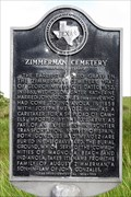 Image for Zimmerman Cemetery