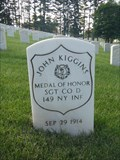 Image for SGT John Kiggins, Bath Nat'l Cemetery